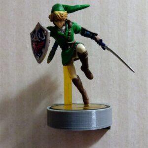 Wall Amiibo Stand - TinkerGryphon.com