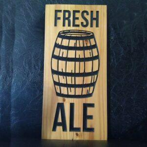 Fresh Ale Sign - TinkerGryphon.com