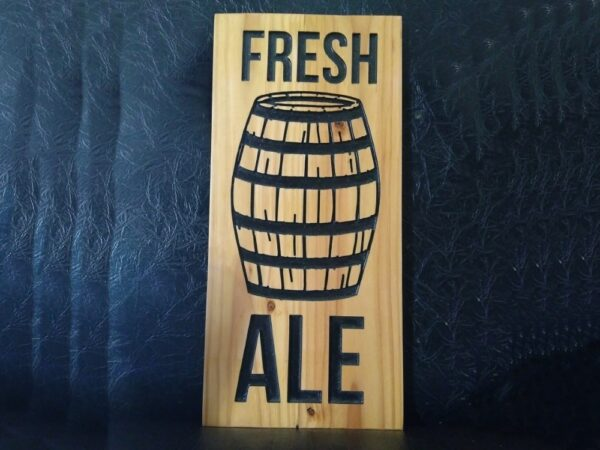 Fresh Ale Sign - TinkerGryphon.com