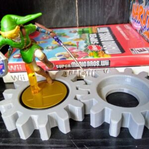 Gear Amiibo Stand - TinkerGryphon.com