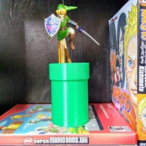 The Warp Pipe Amiibo Stand - TinkerGryphon.com