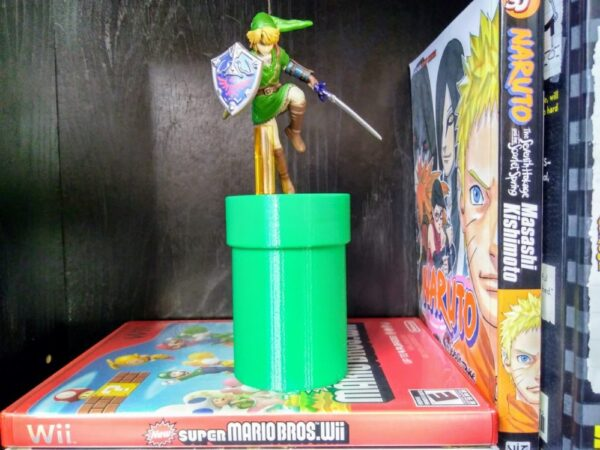 The Warp Pipe Amiibo Stand - TinkerGryphon.com