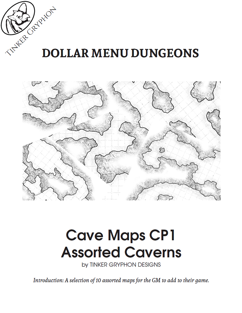 Cave Maps CP1 | Tinker Gryphon Designs