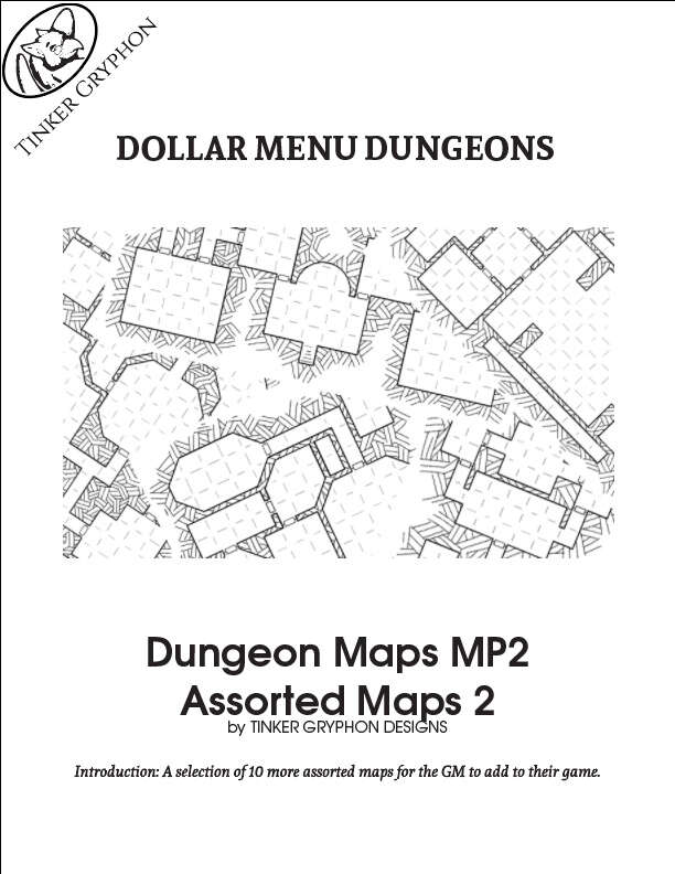 Dungeon Maps MP2 | Tinker Gryphon Designs